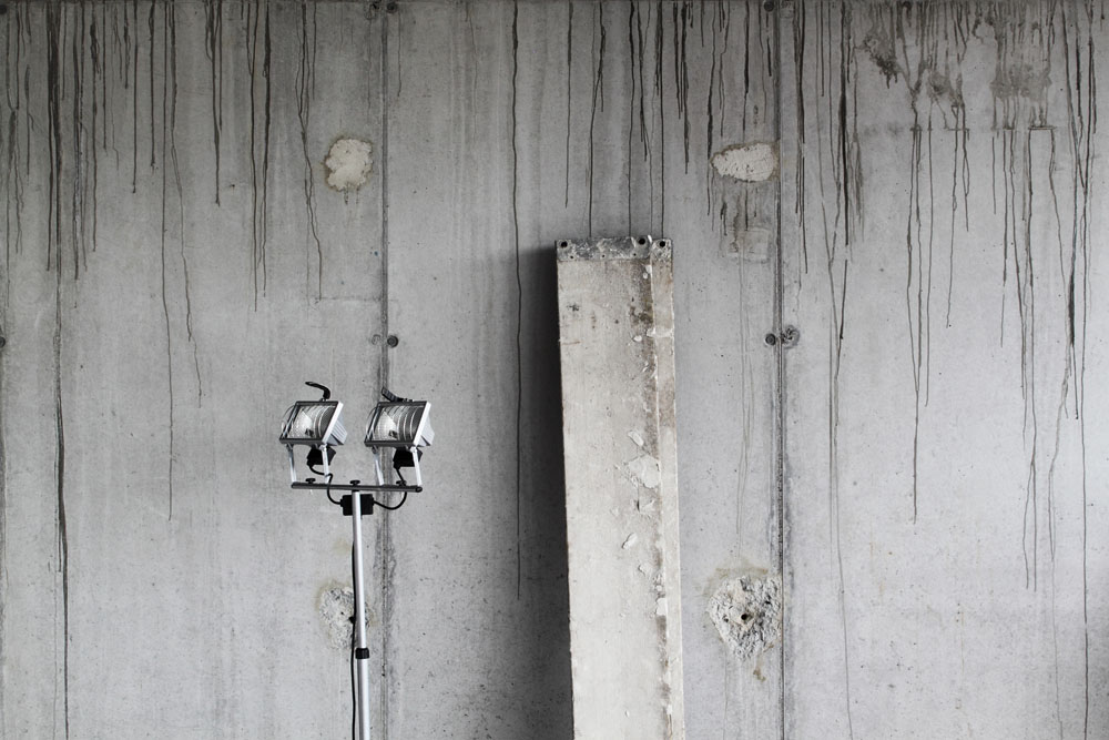 art urban Ben Gowertt photography temporary still life 1, ben gowert, minimalism, texture, abstract, lost places, fotografie, temporary still lifes, textur, pattern, jobs site, struktur, abstrakt, installation, architecture, urban landscape, kunst, minimal, visual art